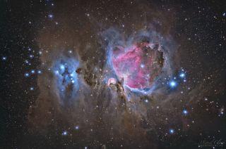 Orion's Dusty Heart