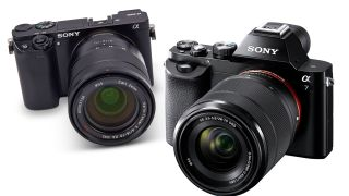 Sony A6000 and Sony A7