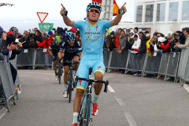Luis Leon Sanchez wins stage 2 of the 2016 Volta ao Algarve
