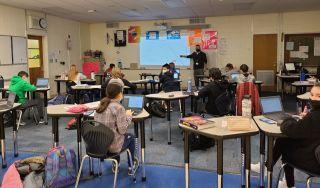 Classroom at Linwood Public Schools