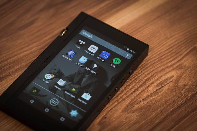 The DP-X1 is Onkyo's first portable hi-res audio player