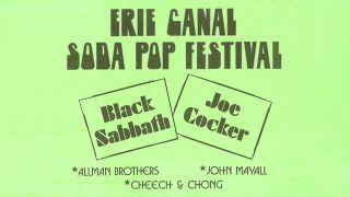 Erie Canal Soda Pop Festival poster