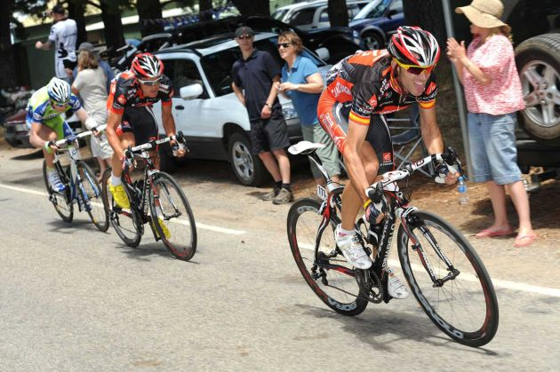 Tour Down Under stage 5, Snapper Point to Willunga Luis Leon Sanchez wins Andre Greipel overall leader