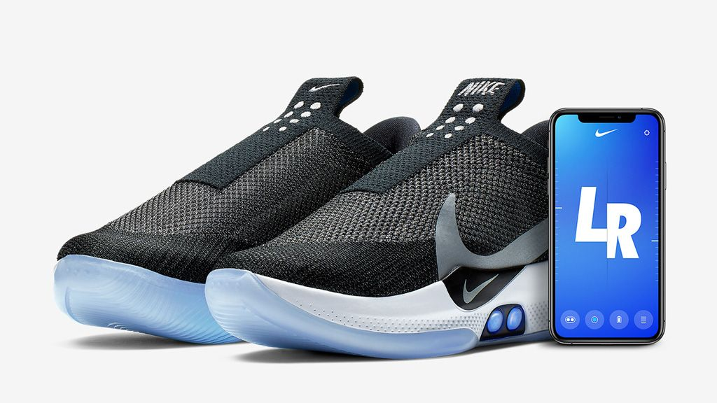 Check Out Nike's New Self Lacing Shoes
