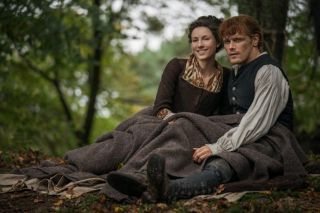 Jamie (Sam Heughan) and Claire Fraser (Caitriona Balfe) in Season 4 of 'Outlander.'