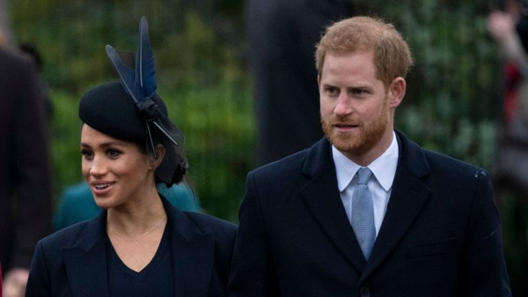 Prince Harry and Meghan Markle Christmas Day Church service