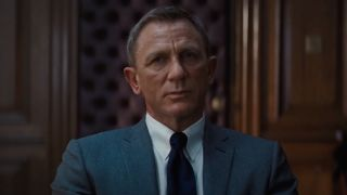 Daniel Craig's James Bond in meeting with M in No Time to Die
