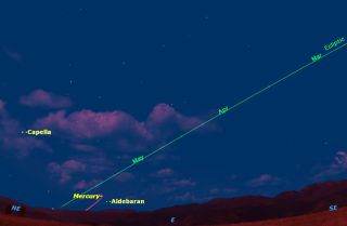 See Mercury in Predawn Sky: Northern Hemisphere