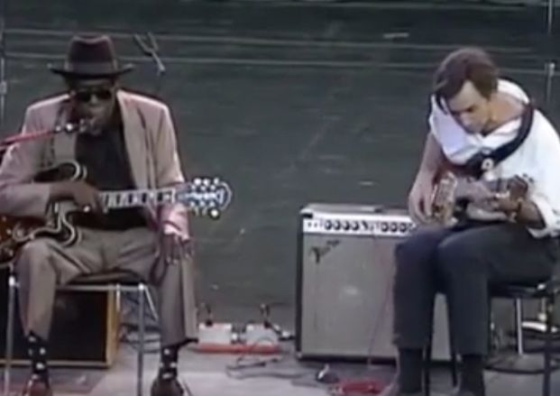 Forgotten Guitar: John Lee Hooker and Ry Cooder Perform Live in 1992