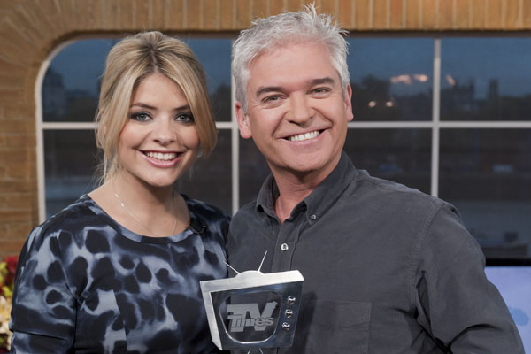 """We're hugely proud,"" beams Phillip Schofield, pictured with co-host Holly Willoughby, after This Morning netted your Favourite Programme title"