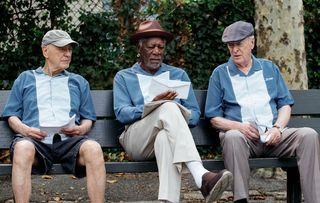 Going In Style Alan Arkin Morgan Freeman Michael Caine