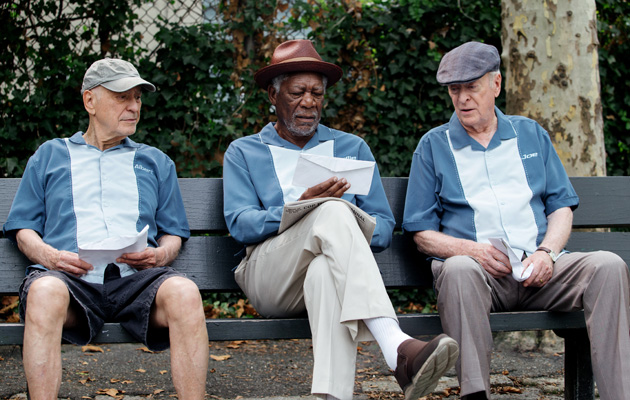 Going In Style Alan Arkin Morgan Freeman Michael Caine