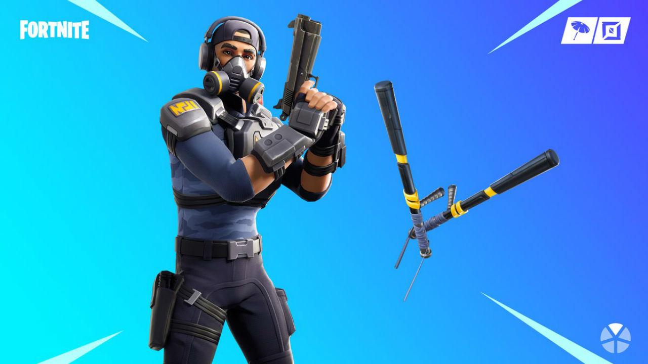 Fortnite shop update: the newest skin is a cop   PC Gamer