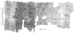 "This papyrus includes a love spell that invokes several gods to ""burn the heart"" of a woman until she loves the person who cast the spell."