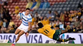 Australia vs Argentina rugby match
