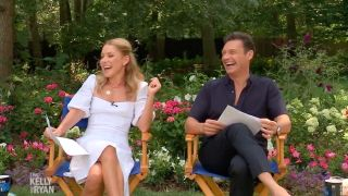 'Live with Kelly and Ryan' hosted its 34th season opener from executive producer Michael Gelman's home in Long Island.