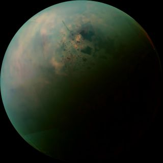 False-color Mosaic of Titan