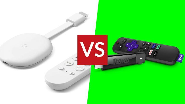 Chromecast with Google TV vs Roku Streaming Stick+