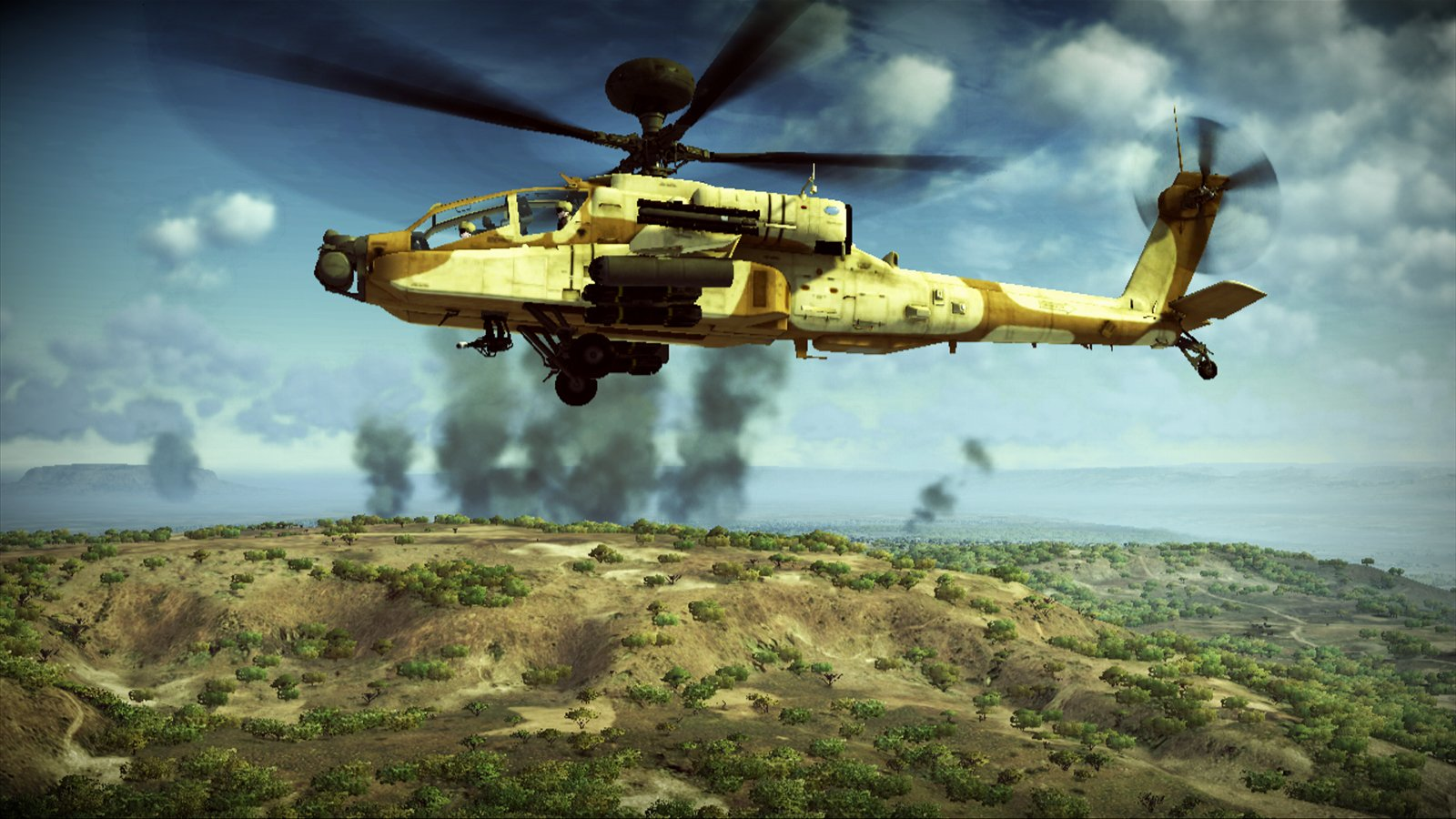 Apache Air Assault Coming To PS3 And Xbox 360 This Fall #13848