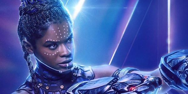Shuri's Infinity War poster