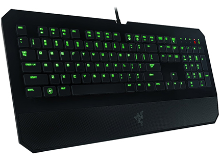 9022c1fa03a The Razer Deathstalker will suit all of your gaming needs, but you could  just as easily get a similar chiclet keyboard for much less money.