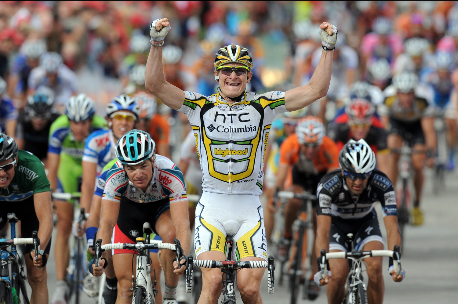 Andre Greipel wins stage six, Eneco Tour 2010