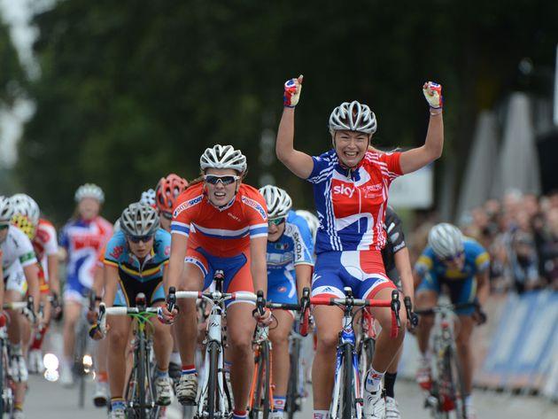 Lucy Garner wins, Junior women road race, Road World Championships 2012