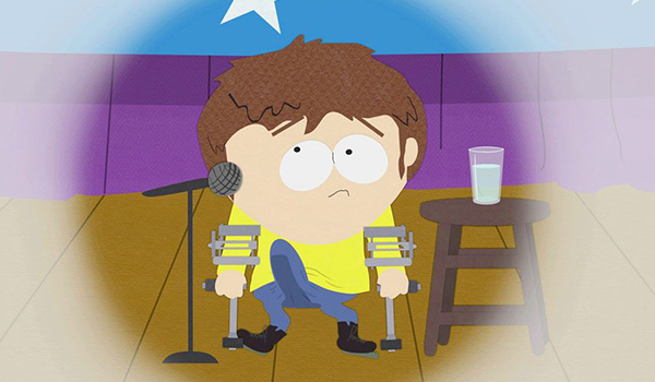 Jimmy does a little standup at South Park elementary