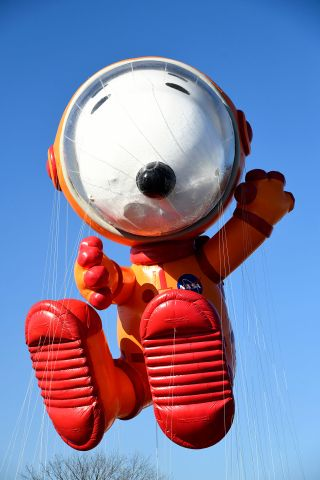 Astronaut Snoopy to Fly in Macy's 2019 Thanksgiving Day Parade, Pending Winds