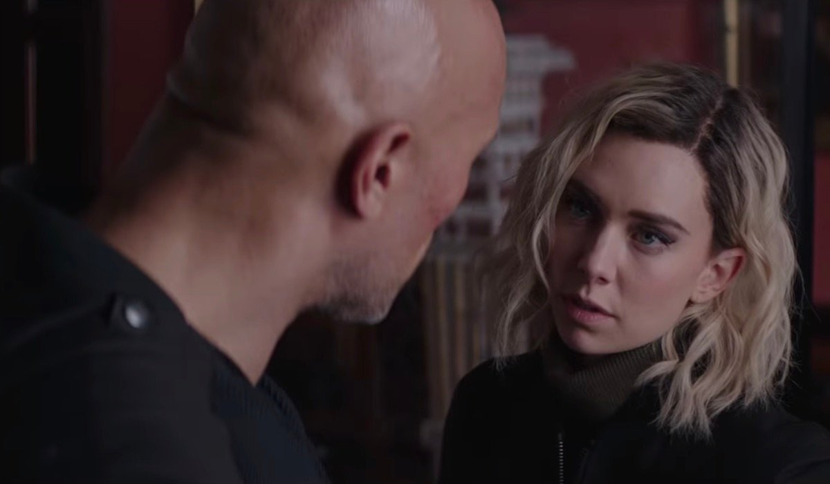 Deckard and Hattie Shaw in Hobbs and Shaw