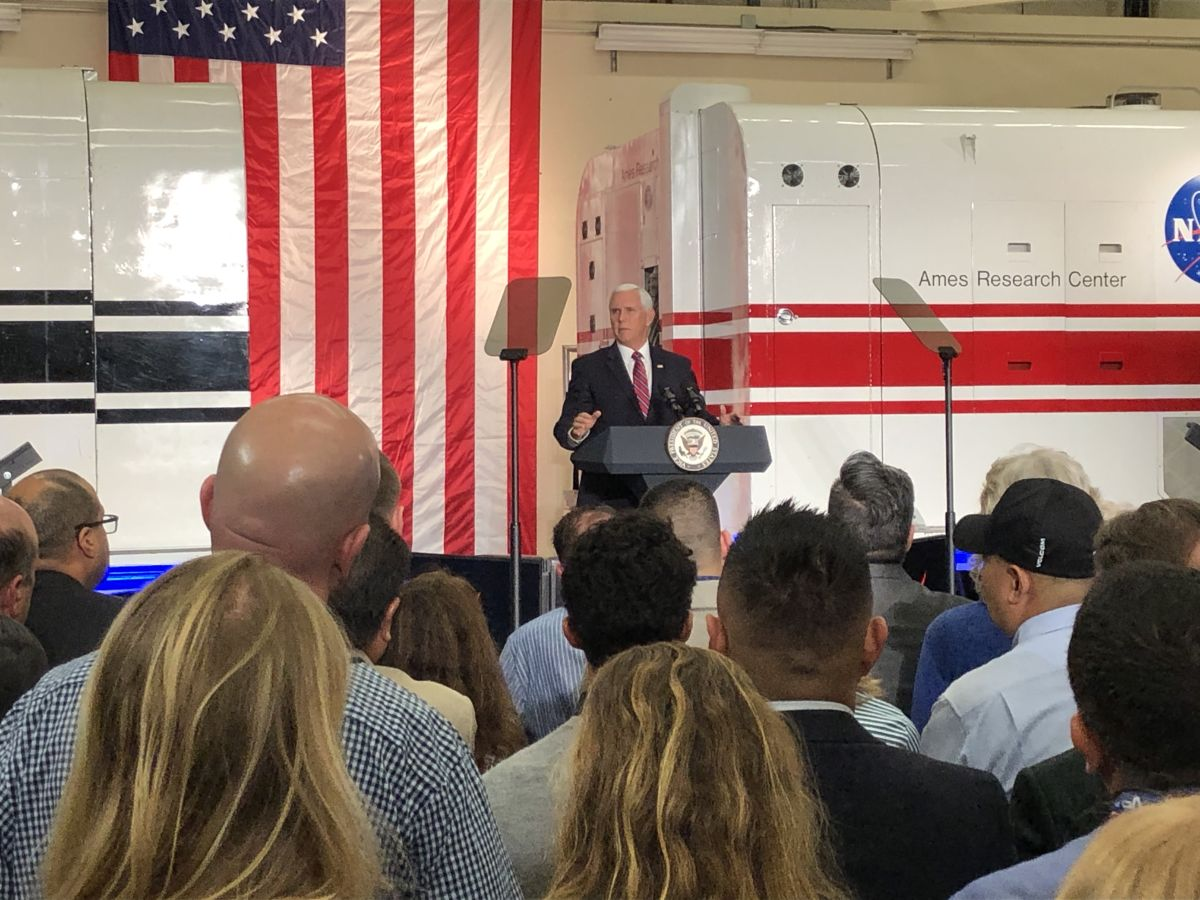 'Artemis Is Here:' Vice President Pence Stresses Importance of 2024 Moon Landing