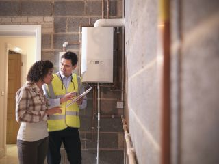 a gas boiler ban sees a move to low carbon heating systems