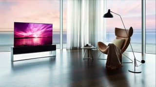 LG rollable OLED TV finally goes on sale – at an eye-watering price