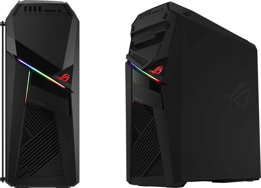 Asus unveils a factory-overclocked desktop with hot