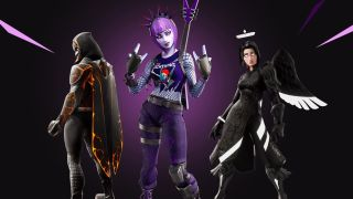 The Fortnite Darkfire Bundle has Halloween looks with holiday savings