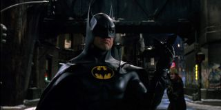 Michael Keaton as Batman in Batman Returns