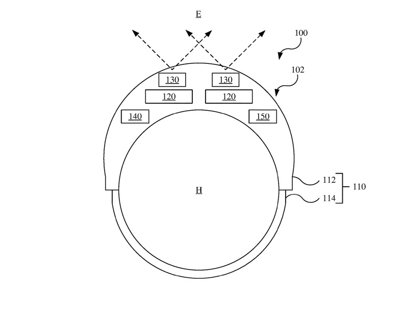 Patent showing Apple Glass low light vision