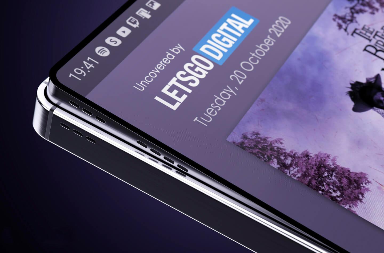 Дисплей без рамки Samsung Galaxy S21