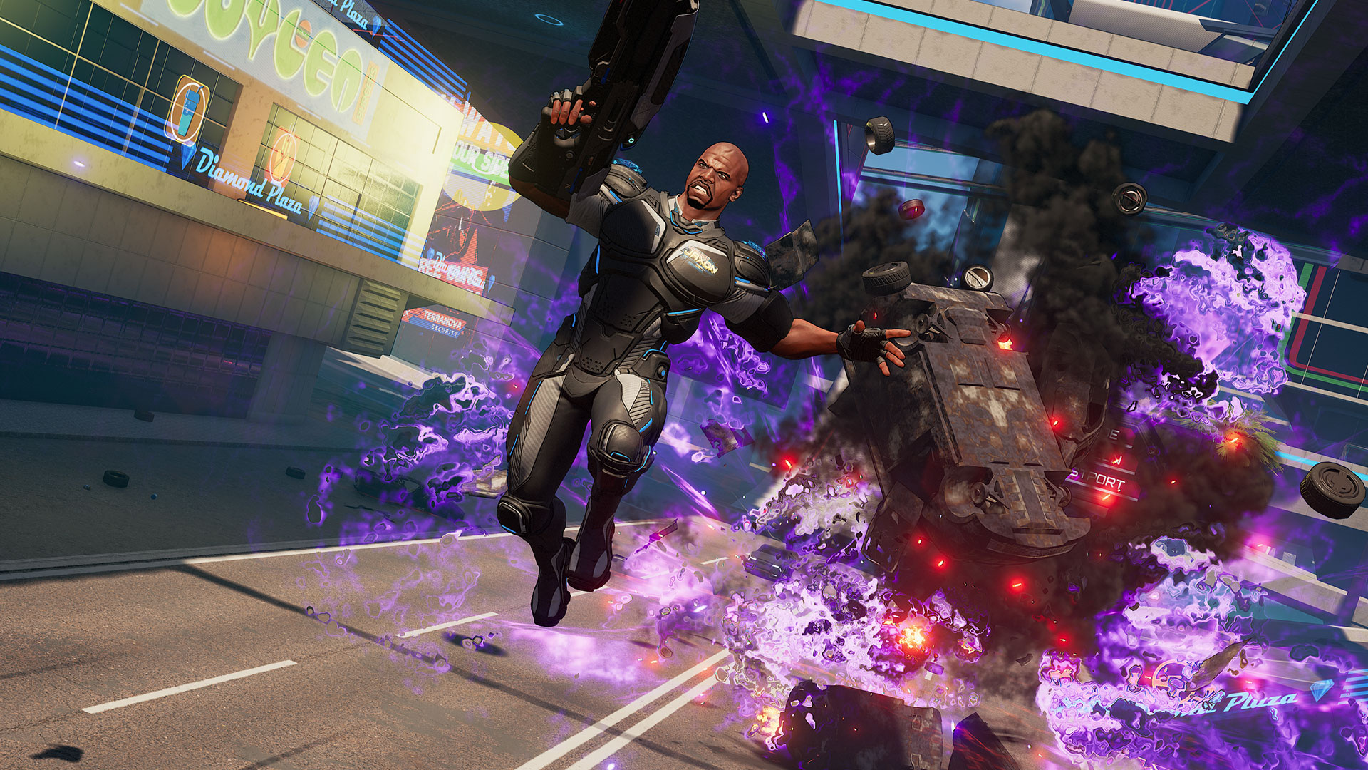 Image result for crackdown 3 1920x1080 gameplay screenshots