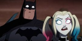 The Sexual Batman And Catwoman Moment In Kaley Cuoco's Harley Quinn TV Show That DC Shot Down