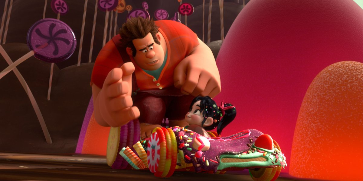 Wreck-It Ralph (2012) Ralph and Vanellope
