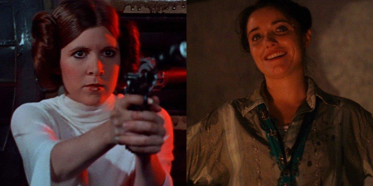Princess Leia and Marion Ravenwood