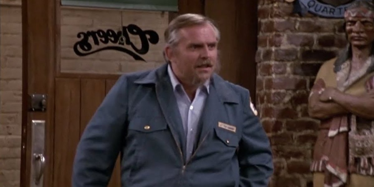 John Ratzenberger as Cliff on Cheers