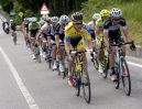 Michael Rogers leads an escape on stage twenty of the 2014 Giro d'Italia