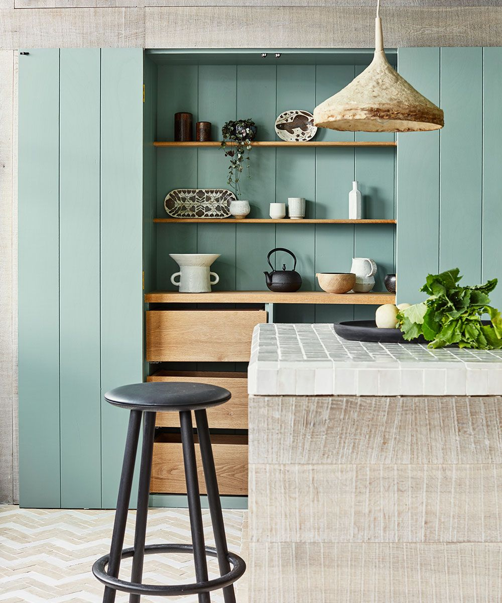 Green kitchen ideas, from cabinets, walls and more