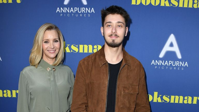 """Lisa Kudrow and Julian Stern arrives at the LA Special Screening Of Annapurna Pictures' """"Booksmart"""" at Ace Hotel on May 13, 2019 in Los Angeles, California"""