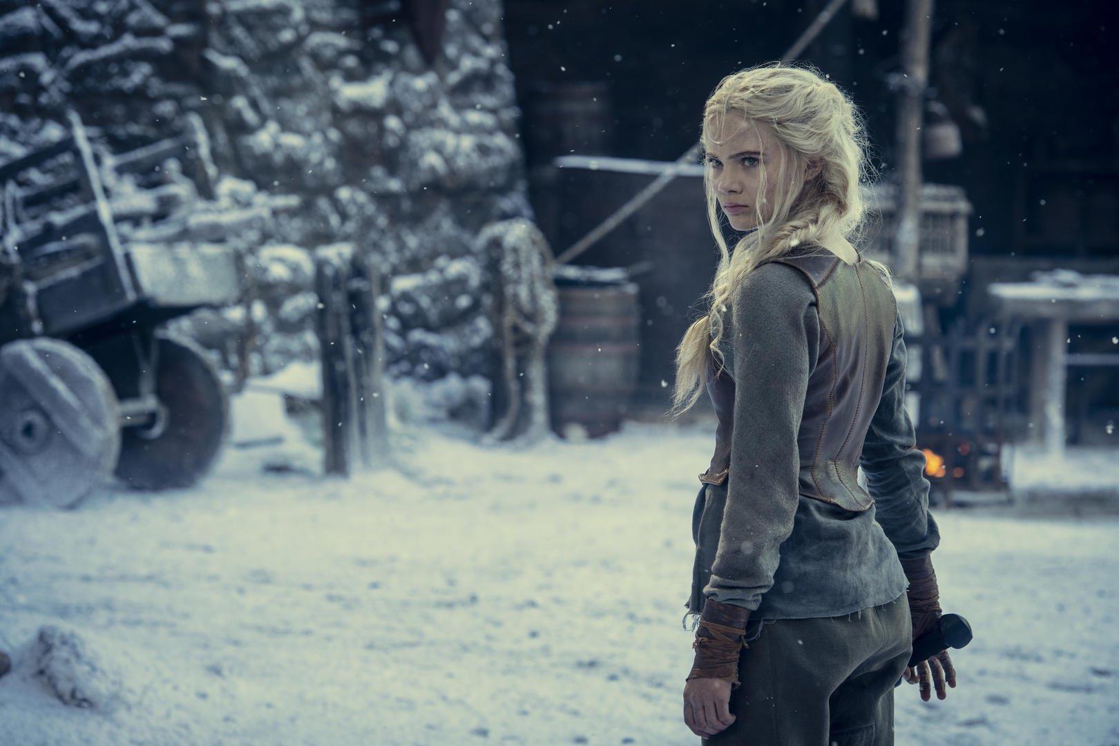 The Witcher season 2 - Ciri at Kaer Morhen Mor