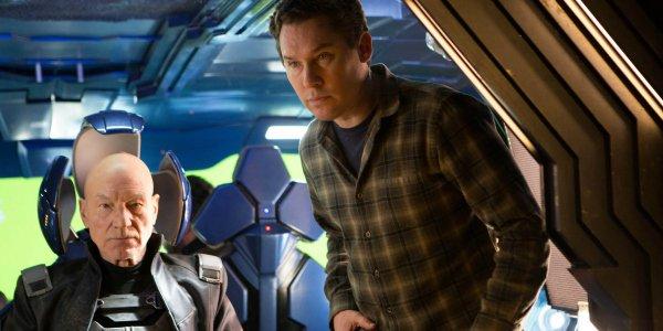 Bryan Singer in X-Men still from Fox