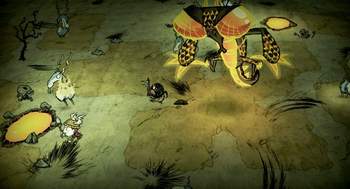 dont starve a new reign trailer