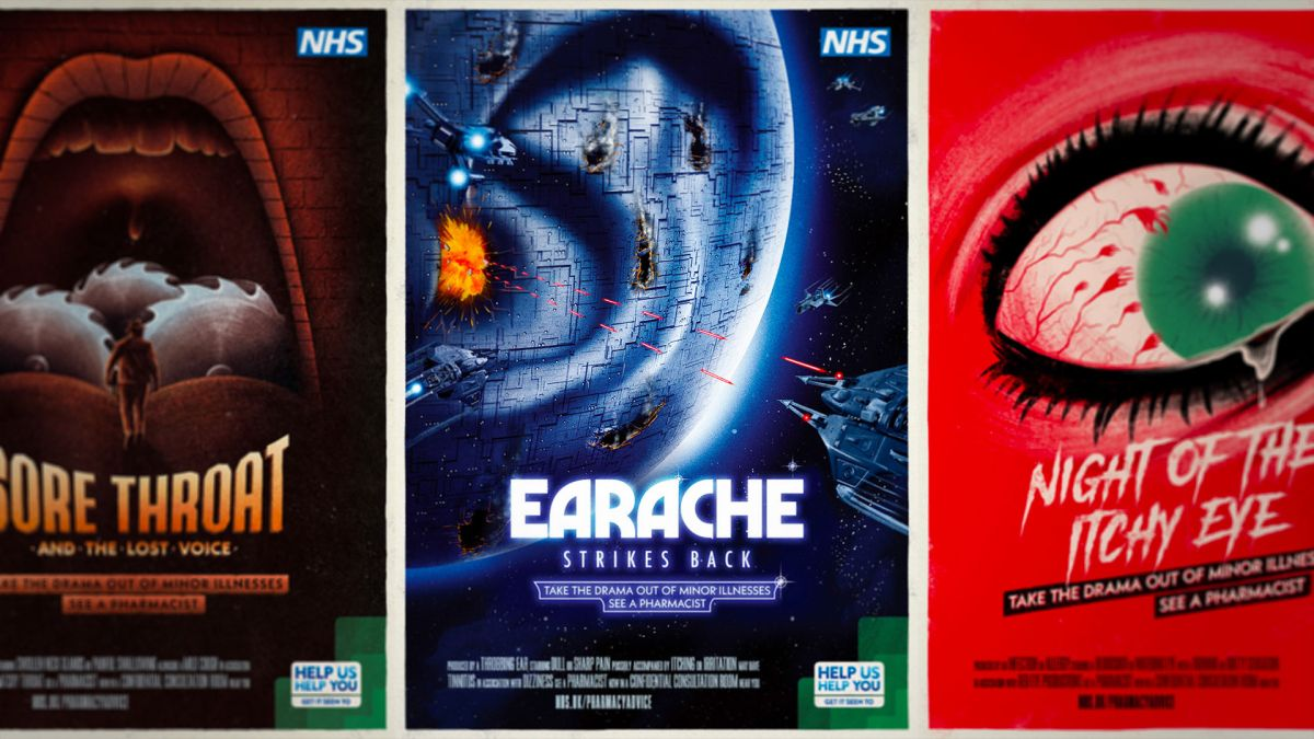 Epic posters give diseases a movie makeover